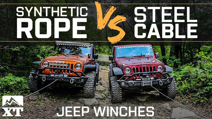 Synthetic Winch Rope vs. Steel Cable: The Facts to learn!