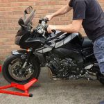best-motorcycle-wheel-chock-for-garage